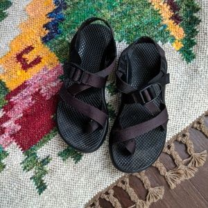 Chaco black women's chacos sandals size 6
